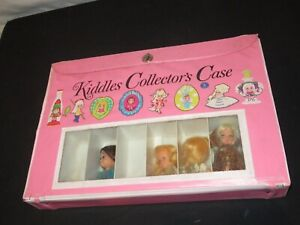 Vintage Kiddles Collector's Case w/ Dolls Accessories & More LOT (F421)