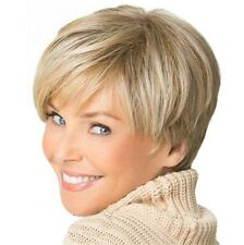 Fashion wig Natural Light Blonde Straight Short Hair Wigs Short Women's Wig 2019