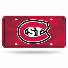 St Cloud State Huskies Logo NCAA 12x6 Auto Metal License Plate Tag CAR TRUCK
