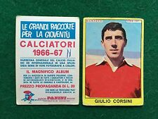 CALCIATORI 1966/67 66/1967 MANTOVA Giulio CORSINI Figurina Sticker Panini (NEW b