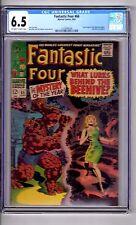 Fantastic Four #66 6.5 CGC OW/WP' Origin..HIM..'! Kirby C/A