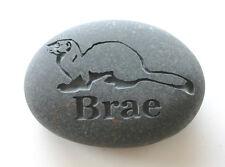 Ferret Pet Memorial Custom Engraved Memorial Stone Pet Loss Personalized Stone