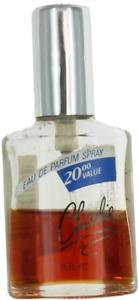 Revlon Charlie For Women Mini EDP Splash Perfume 1.15oz Unboxed New 50% FULL