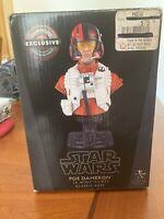 BRAND NEW Star Wars Poe Dameron X-Wing Gentle Giant Bust 881/4000 Gamestop