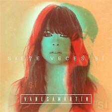"""2CD VANESA MARTIN """"SIETE VECES SI -LTD + CD ACUSTICO-"""". Nuevo y precintado"""