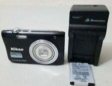 Nikon S2900 20.1MP 5X Optical Zoom Digital Camera - Black *VERY GOOD*