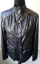 DKNY Golf NWT Black Rain Windbreaker Snap Jacket Size Small Sold Out Retail $150