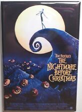 "Nightmare Before Christmas Movie Poster MAGNET 2"" x 3"" Refrigerator Locker"
