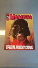 Famous Monsters Magazine #123 Horror Cult Collector Holiday Issue 1975