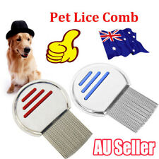Lice Nit Comb Get Down To Nitty Gritty Stainless Steel Metal Head And Teeth EA