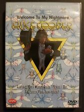 Alice Cooper - Welcome to My Nightmare (DVD, 1999) Original Region 1 USA Release