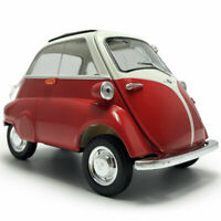 1:18 Scale Vintage 1955 BMW Isetta Model Car Diecast Vehicle Collection Gift Red