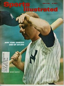 Sports Illustrated Magazine - June 21, 1965 feat. Mickey Mantle