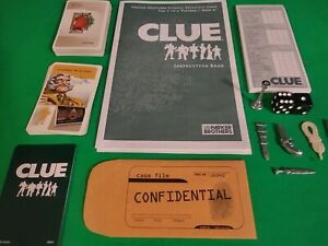 Clue Detective Board Game Replacement Parts & Pieces 2005 Parker Bros