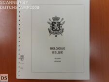 Used Lindner-T album pages - Belgium - 1998-1999 (15 pages)