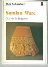 Samian Ware-Guy De La Bedoyere-Shire Arqueología, 1988, primera edición.