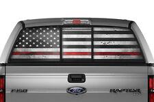 Ford F150 Raptor SVT F-150 Window Vision Graphics Vinyl Sticker Decal 10-14 RED