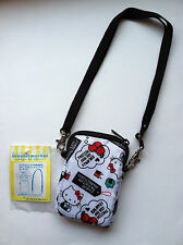 Sanrio Original Hello Kitty Design Padded Cell Phone Pouch with Removable Strap