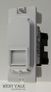 Legrand Synergy Grid System  - 7352 56 - RJ45 Data Outlet Cat 6 UTP Module New