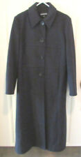 Donnybrook Wool Charcoal Black Long Winter Coat Size 6 Womens