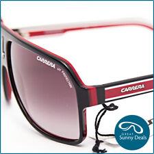 NEW Carrera 27 Black Red Crystal White (XAV90) Sunglasses