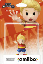 New Nintendo Amiibo Character Lucas For Wii U 3DS Super Mario Collection