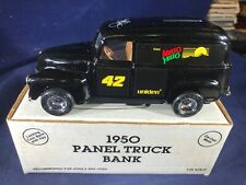 Y1-14  ERTL DIE CAST BANK - 1950 PANEL TRUCK - NIB - MELLOW YELLOW / UNIDEN