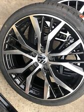 "4X BRAND NEW SANTIAGO GOLF R 19"" & NEW TYRES FOR VW CADDY PASSAT JETTA BORA"