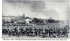 Krieg in Galizien Nach der Erstürmung von Gorlice...1. WK-  Bilddokument 1915