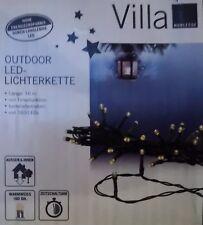Batterie LED Lichterkette Weihnachtslicht Timer Beleuchtung Inn/Außen Christbaum