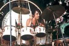 """THE WHO KEITH MOON in OAKLAND, CA 12"""" x 18"""" by Steve Carlisle"""