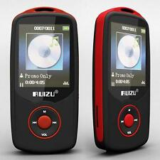 "Ruizu 1.8"" TFT Bluetooth MP3 Player TF card 4G storage Built in FM Radio Red SH"