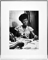 SARAH VAUGHAN PHOTO THE GOLDEN AGE OF JAZZ WILLIAM P. GOTTLIEB SIGNED PRINT