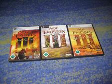 Age of Empires 3 Complete Collection PC kpl. deutsch alle in einzelnen Hüllen