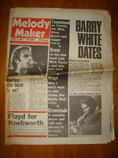 MELODY MAKER 1975 APR 12 PINK FLOYD WHO RINGO STARR