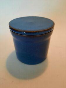 Denby Imperial Blue Storage Jar With Ceramic Lid
