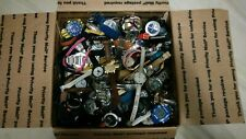 Large mixed watch lot Guess,Swatch, Coach,G-shock,fossil and more.