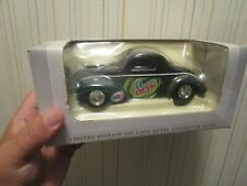 SPECCAST 1941 WILLYS COUPE STREE ROD MOUNTAIN DEW SODA METAL BANK