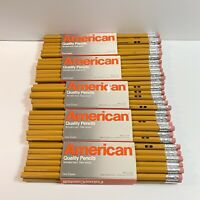 Vintage 60 Faber Castell American Quality Pencils No. 2 Medium Soft USA NOS VTG