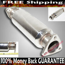 SS Cat/Test Pipe for Honda Civic 88-00 Del Sol 93-97 High FLow Performance