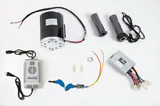 1000 W 48 V motor ZY1020 w base, speed controller, keylock, Throttle & charger