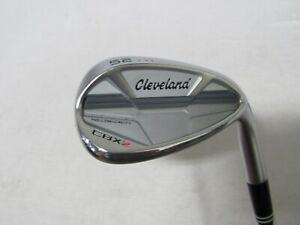 Used RH Cleveland CBX 2 Satin Chrome Single 52* Wedge - Wedge Flex Graphite