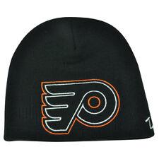 14af24b302d NHL Zephyr Philadelphia Flyers X Ray Cuffless Beanie Knit Toque Skully Hat  Black