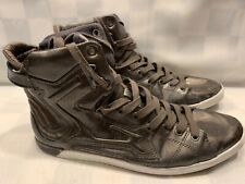 ZARA High Top Sneakers Pewter Men's Shoes Size 11 US