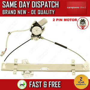 FOR HONDA CIVIC MK7 2001>2005 FRONT RIGHT SIDE WINDOW REGULATOR WITH 2 PIN MOTOR