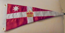 Royal Melbourne Boat Yacht Club Harbor Boat Ship Marina Pennant Flag Burgee AU M