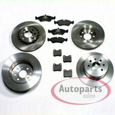 Opel Vectra B Bremsscheiben für 4 Loch Bremsen Bremsbeläge vorn vorne hinten*