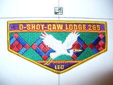 OA O Shot Caw Lodge 265 S106,2005,LEC Seminole Indian Patchwork,GR Flap,South FL