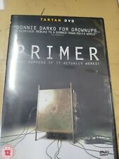 Primer (2004) (DVD) Shane Carruth Import Region 2 Mint played only once
