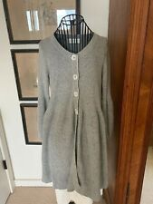 ANTHROPOLOGIE Laurie b. Brown Alpaca Mohair Blend Cardigan Sweater Size S